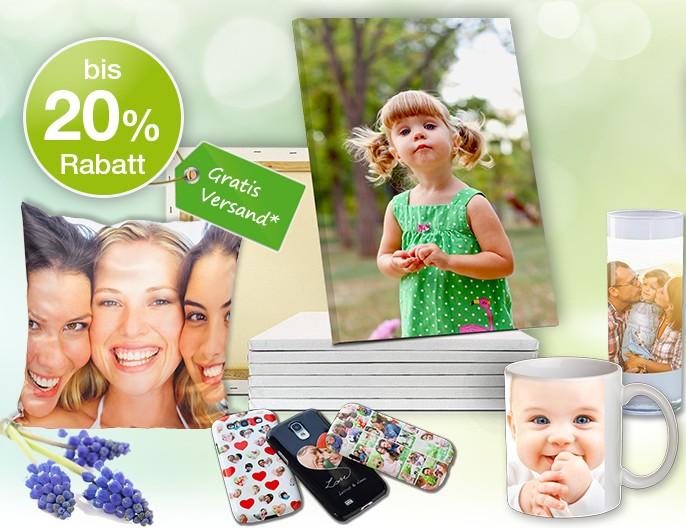 Kreative Osterdeko mit Fotoprodukten und grosse Frühlings-Aktion