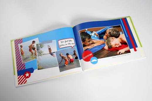 Les livres photos préservent les souvenirs de vacances