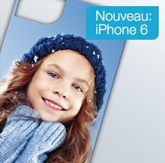 Nouvelle coque photo pour l'iPhone 6