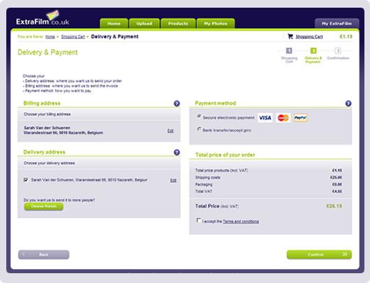 screenshot payment methods