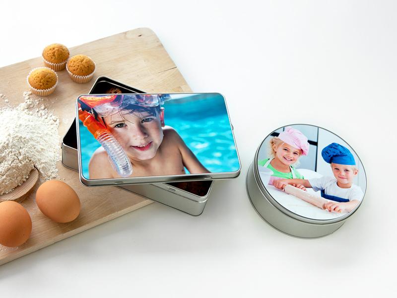 boîte personnalisée avec photo