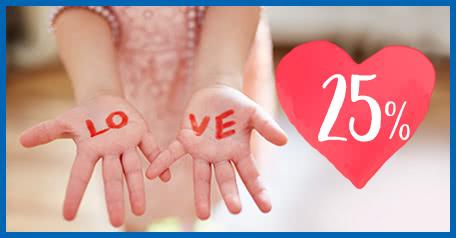 Valentinsdag! Valentinsdag!
