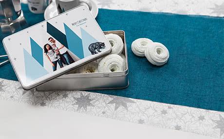 boite à biscuits personnalisé Offrez des cadeaux originaux pour Noël : boite à biscuits personnalisée