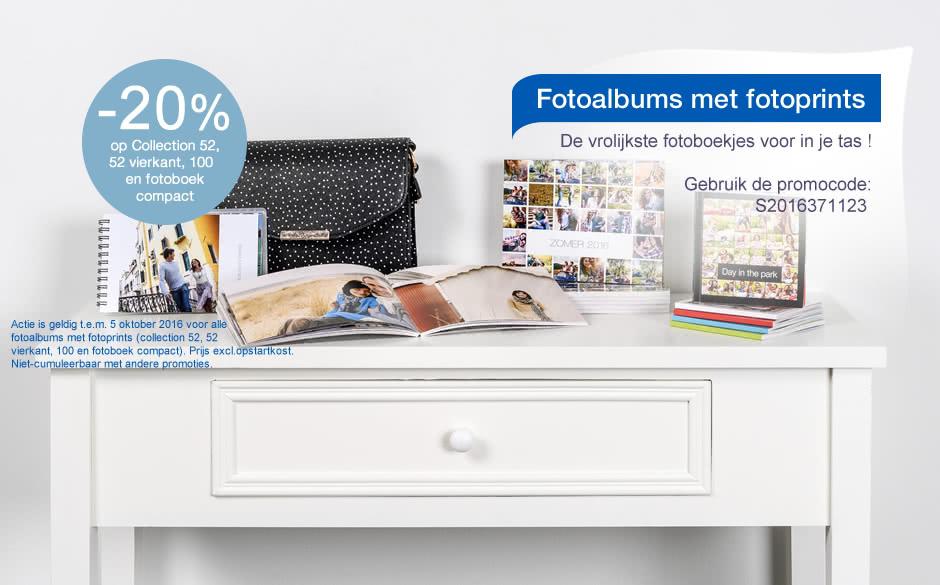 Fotoprints - fotoalbums compact Fotoprints - fotoalbums compact
