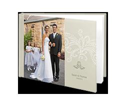 Photo Book L Landscape - Wedding Doves
