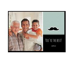 Kuvakortti - Dad Moustache