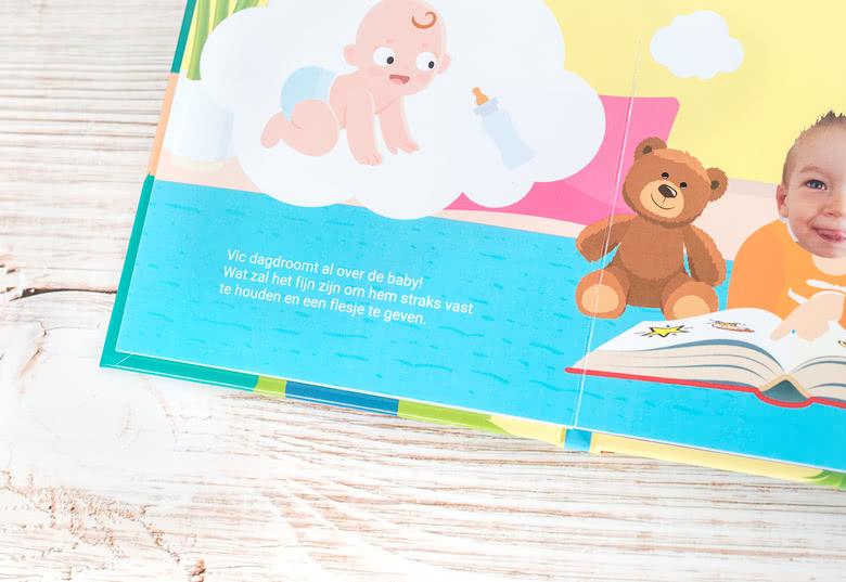 Maak een Voorleesboekjes Zwangerschap - Broertje