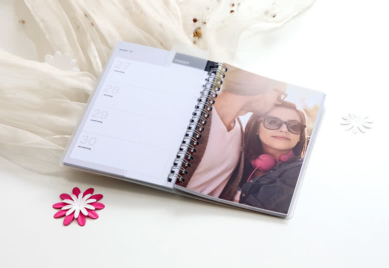 Personalise your Diary with your photos