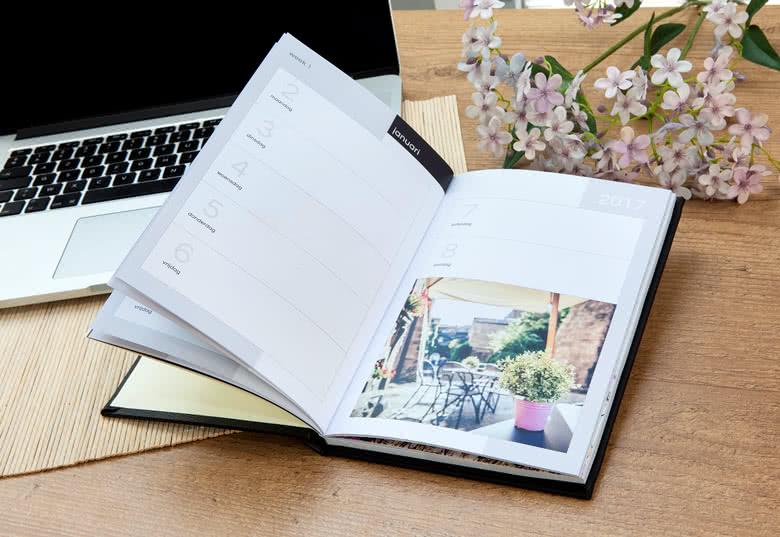Créez votre agenda photo Luxe