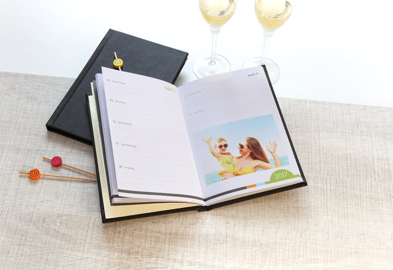Lag en kalenderbok deluxe