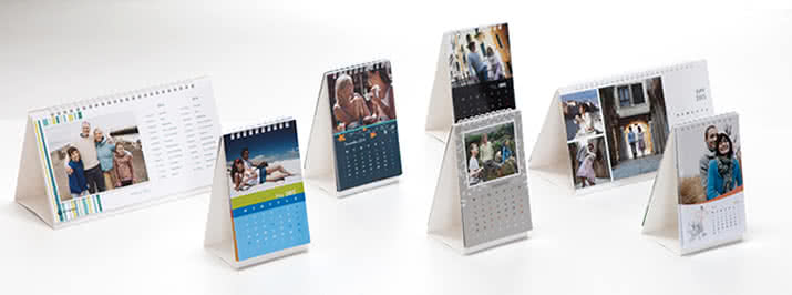 Order your own Desk Calendar