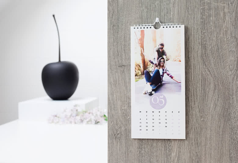 Personalise your Kitchen Calendar with your photos