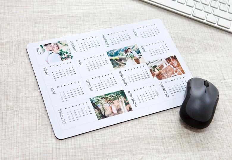 Maak jouw Muismat met kalender