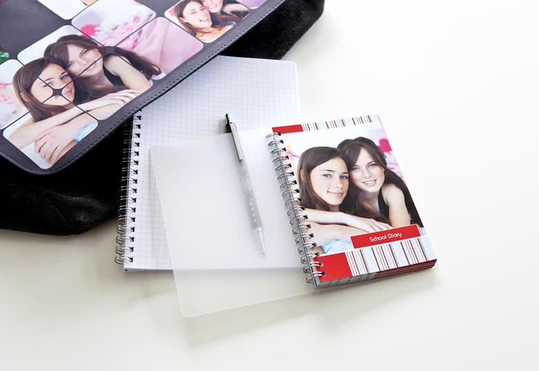 Gjør skoledagen morsommere med dine egne bilder!