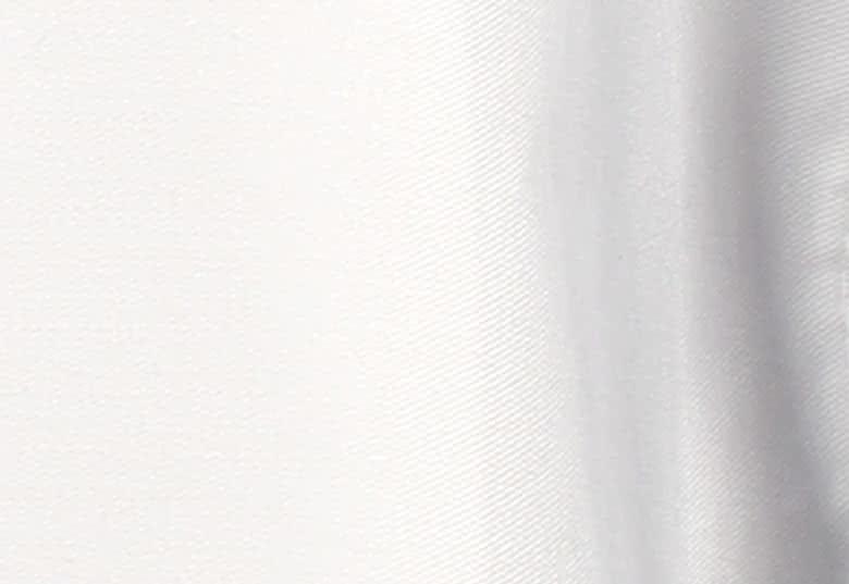 Wit 65% polyester, 35% katoen