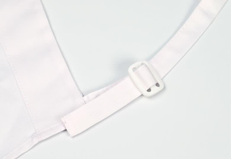 Verstelbare neksluiting, maximale lengte van 50 cm