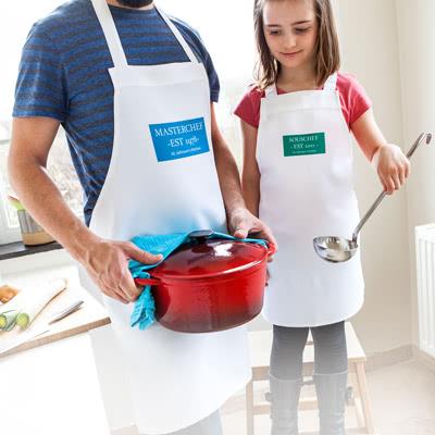 Maak een Schortenset voor Ouder en Kind