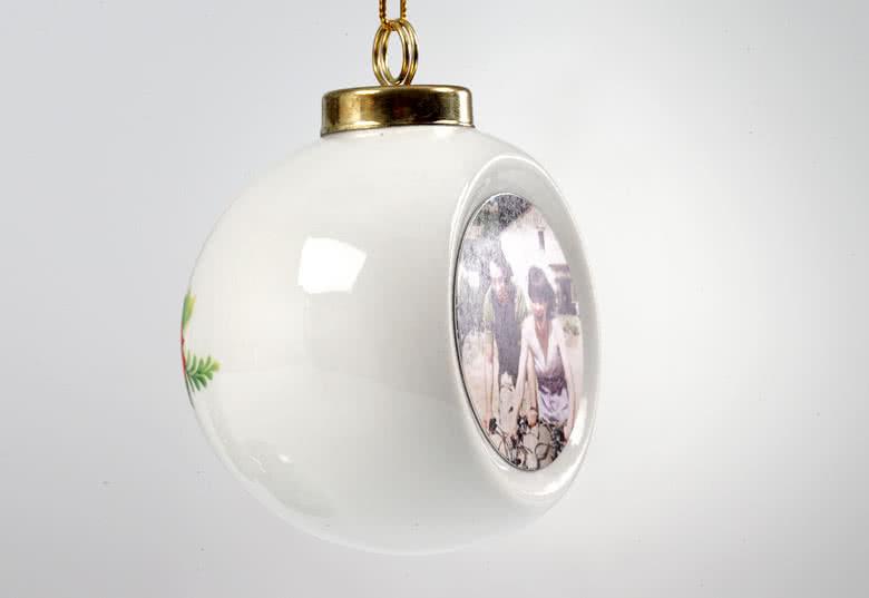 Licht sprankelende foto op de verzonken voorzijde van de bal