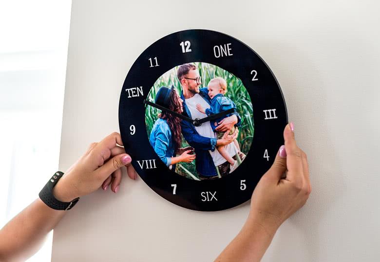 Beställ din egen klocka med bild