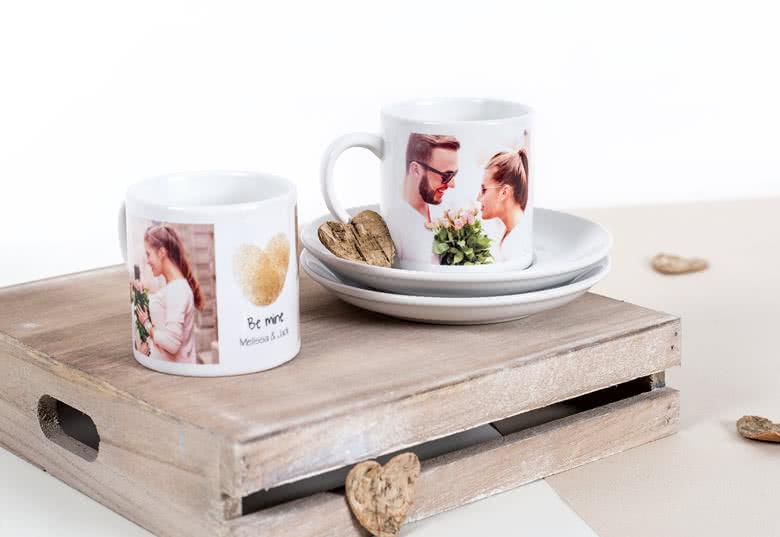 kaffee set mit foto bedrucken espresso set mit foto fotogeschenke vom fotoservice smartphoto. Black Bedroom Furniture Sets. Home Design Ideas