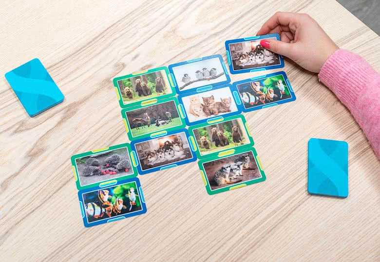 Gepersonaliseerde Vier op 'n rij-kaarten