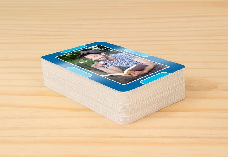 """Personalisierte """"Vier in einer Reihe""""-Karten"""