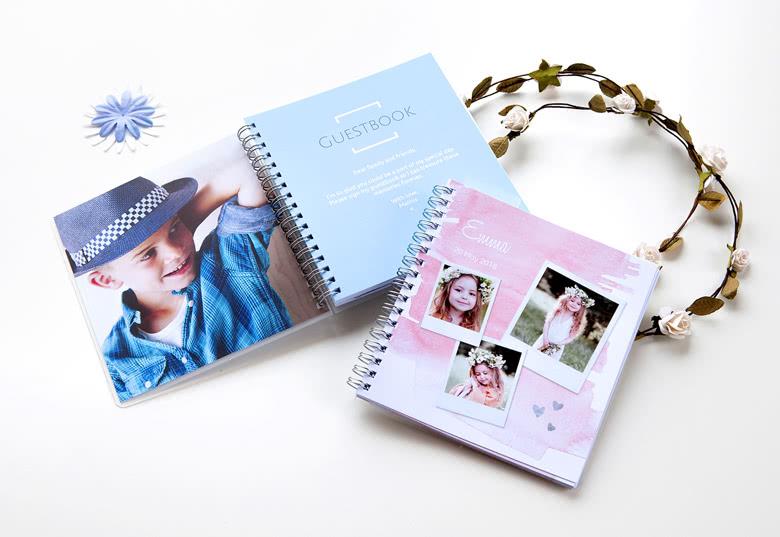 Gästebuch selber gestalten mit eigenen Fotos und Texten