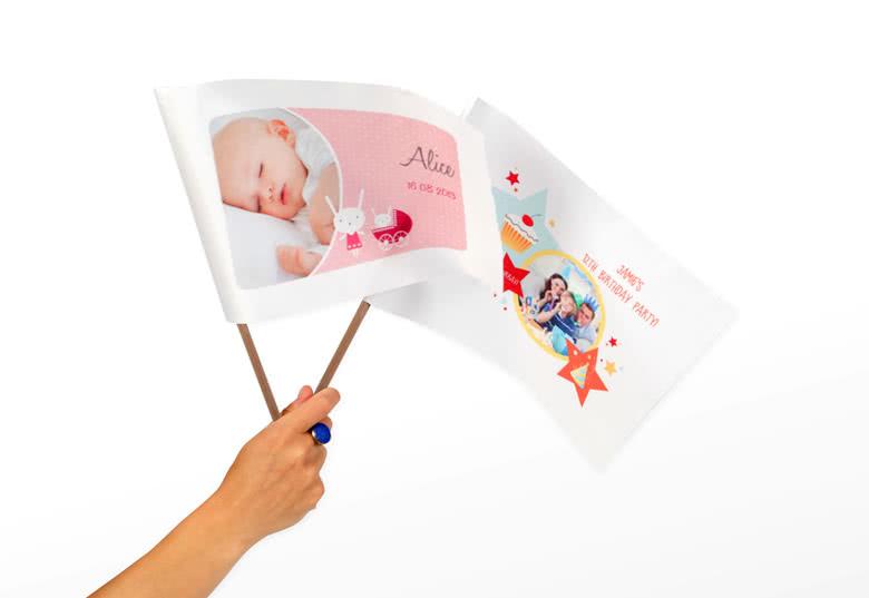 Créez des mini drapeaux
