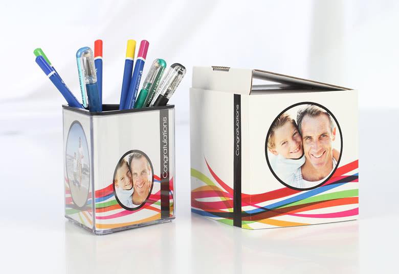 geschenk box mit eigenem foto pers nliche geschenk box. Black Bedroom Furniture Sets. Home Design Ideas
