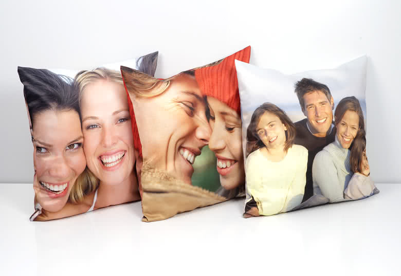 Grand coussin photo
