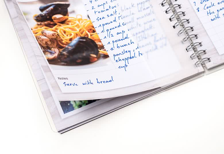 Make a Recipe book