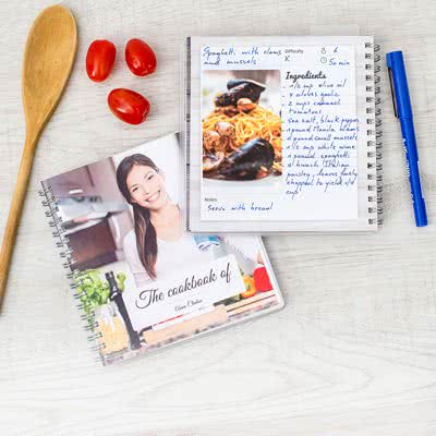 Een receptenboekje maken
