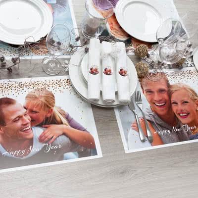 Gör ett Set med Tallriksunderlägg med foto