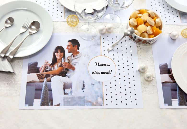 Dekorera bordet med unika Tallriksunderlägg i papper