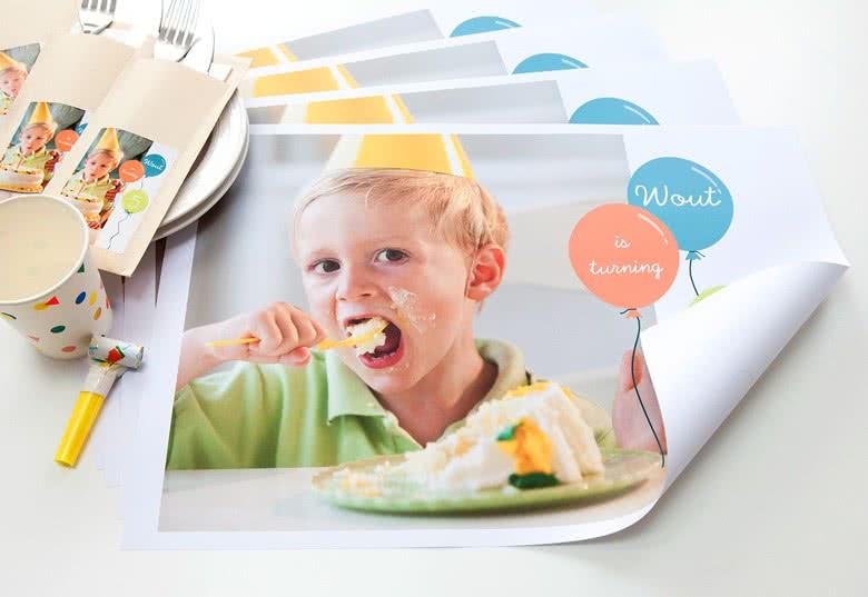 Maak een set van 24 papieren Placemats