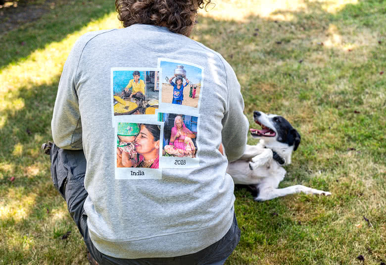 Create a sweatshirt with photo