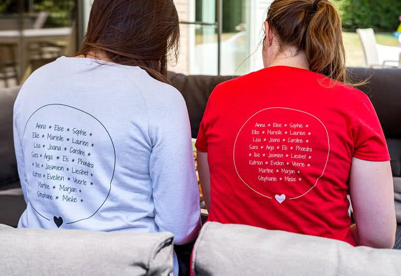 Create a sweatshirt for women