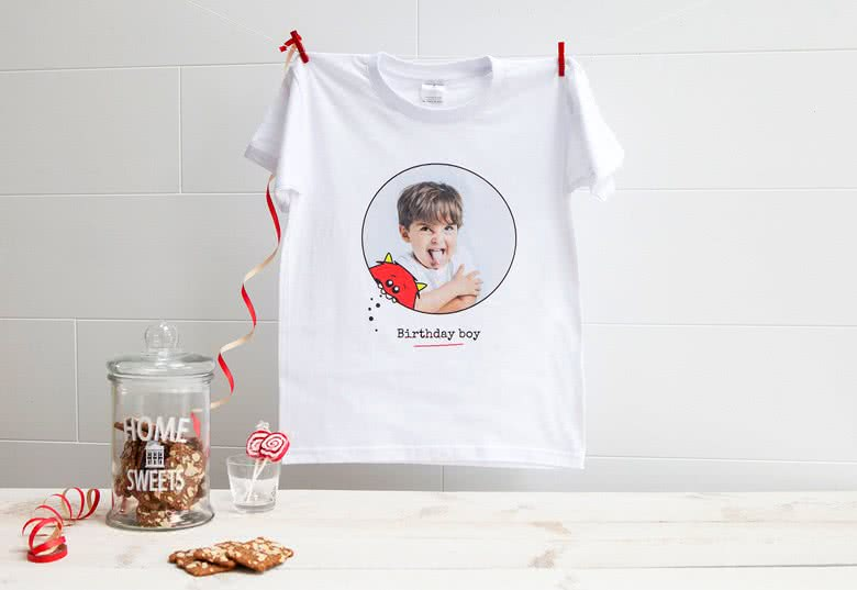 t shirt personnalis enfant t shirt enfant avec photo. Black Bedroom Furniture Sets. Home Design Ideas