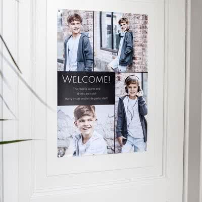 Créez votre affiche de bienvenue