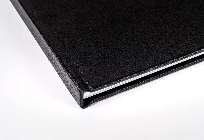 Fotoboek Large liggend - harde lederen kaft