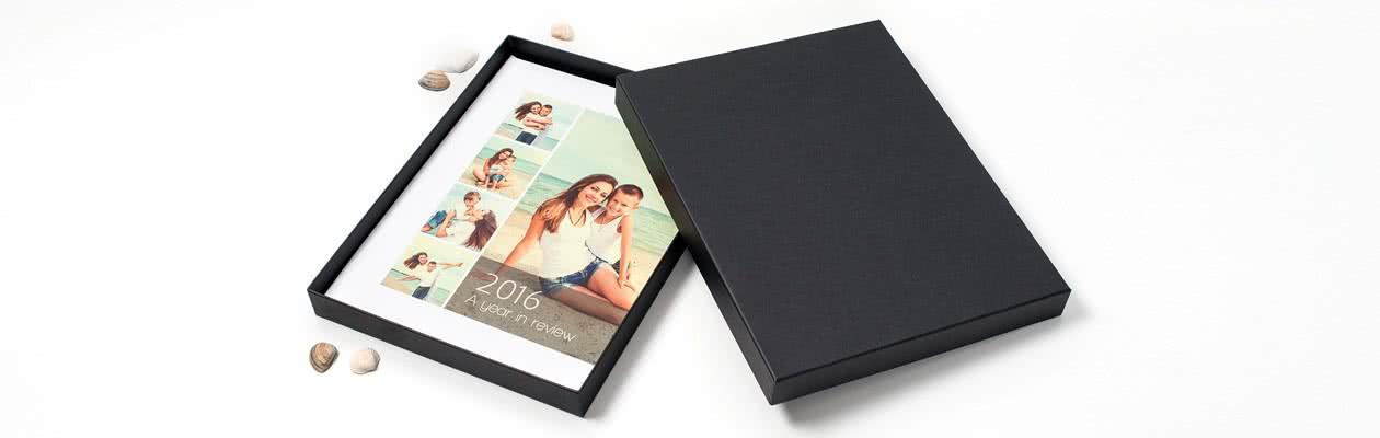 Boîte de présentation moderne