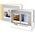 Photo Book Large Landscape Hard Photo Cover