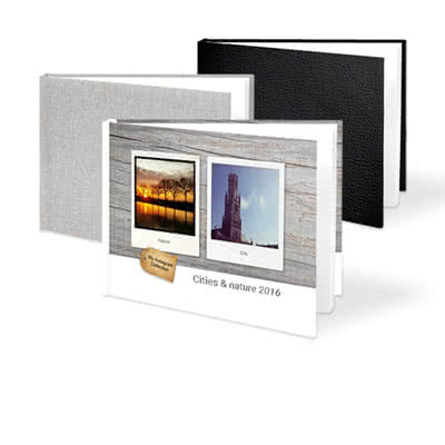 Fotoboek Large liggend - harde fotokaft