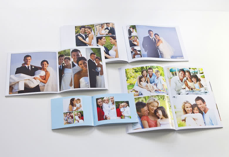 Fotoboek L liggend - zachte fotokaft
