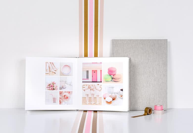 Fotoboek Large staand - harde linnen kaft