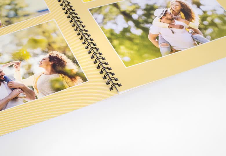 Fotoboek Large staand - spiraalbinding