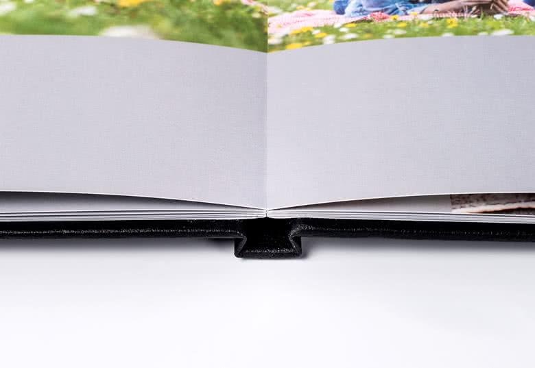 Fotoboek Large vierkant - harde lederen kaft