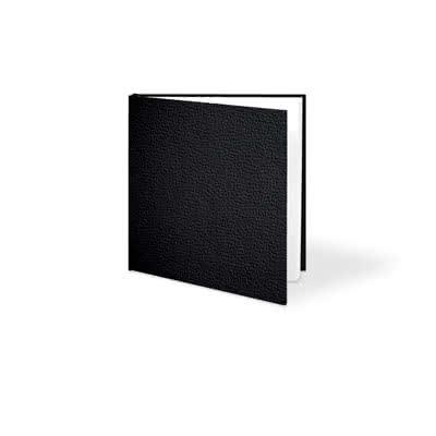 Livre photo L carré - couverture rigide en simili cuir