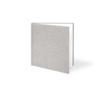 Livre photo L carré - couverture rigide en lin