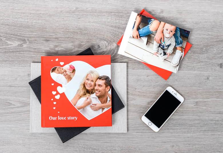Fotobuch Large Quadrat - Hardcover mit Foto